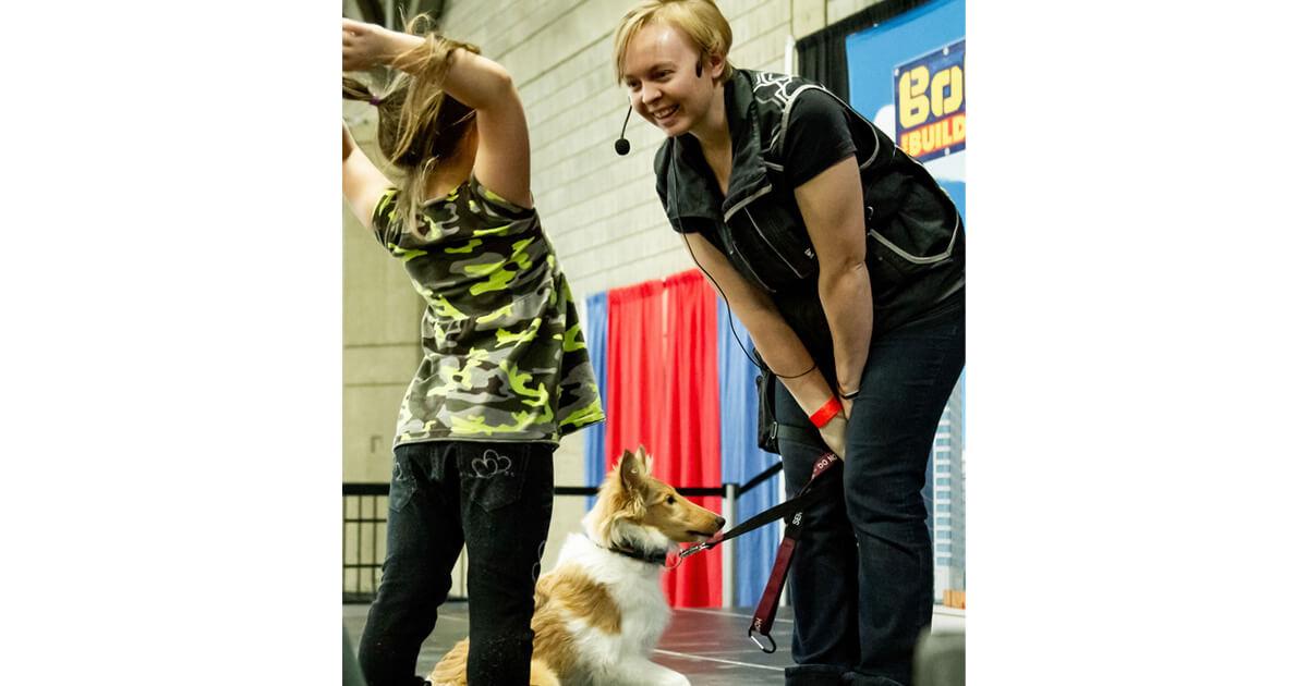 Dog Trainer Kristen McKenna